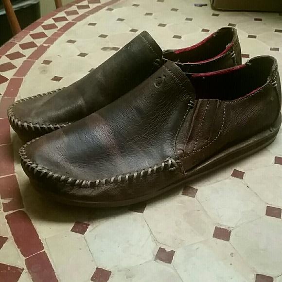 397841ce0f8 Olukai Ali Elua Men s leather shoes Sz 7 Euro 40